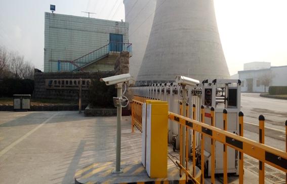 热电厂出入口停车场车牌识别案例