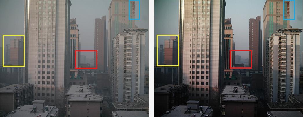 高清摄像机去雾功能